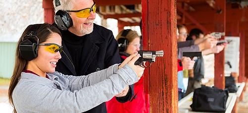 Waffenverwaltung Waffe ÖWS NWR Schießstand Schütze Revolver